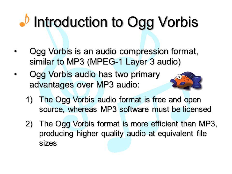 Embedded Ogg Vorbis Audio Player Team Members: Trang Pham