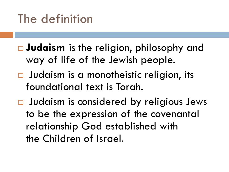 Judaism And Its Symbols The Definition Judaism Is The Religion