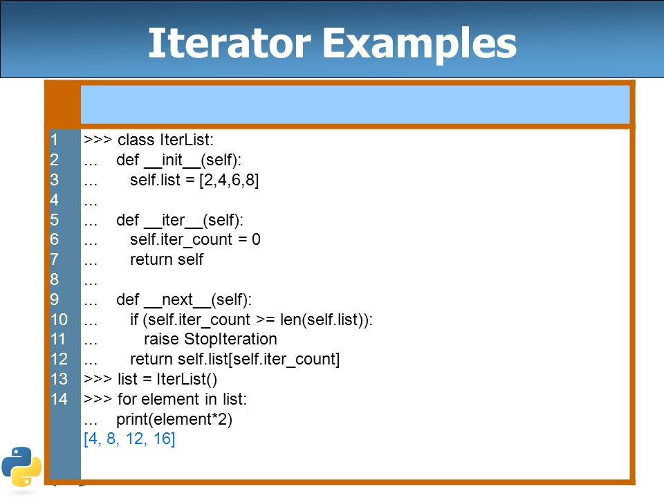 Iterators, Linked Lists, MapReduce, Dictionaries, and List
