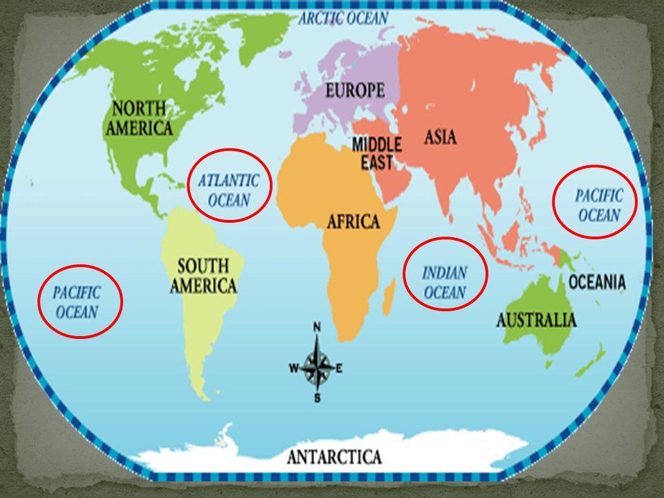 Connaistu les continents et les océans Essaie de les localiser sur cette carte interactive
