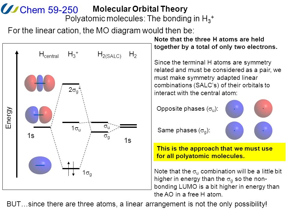 Chem Molecular Orbital Theory Diatomic Molecules Heteronuclear