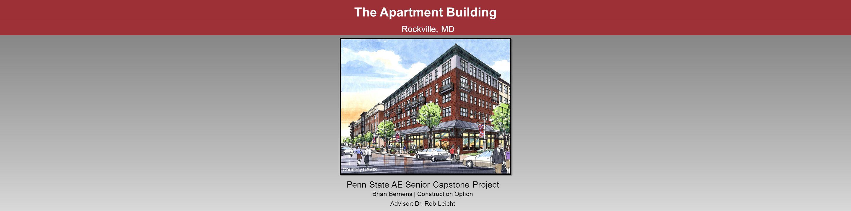 The Apartment Building Rockville, MD Penn State AE Senior Capstone ...