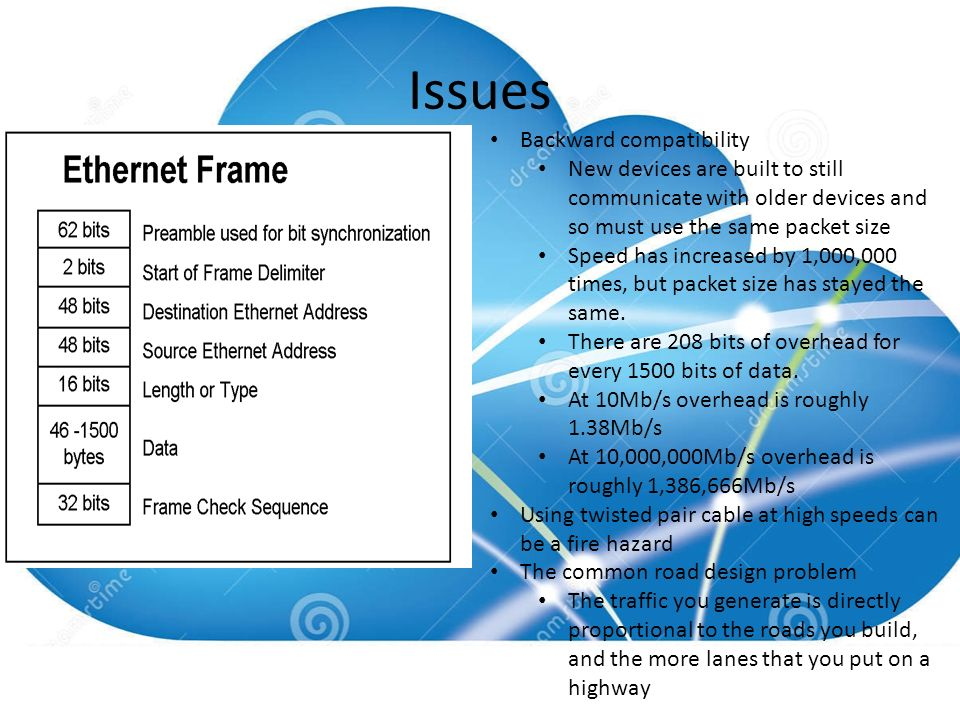Terabit Ethernet. What is it? Standard two pair Ethernet that runs ...