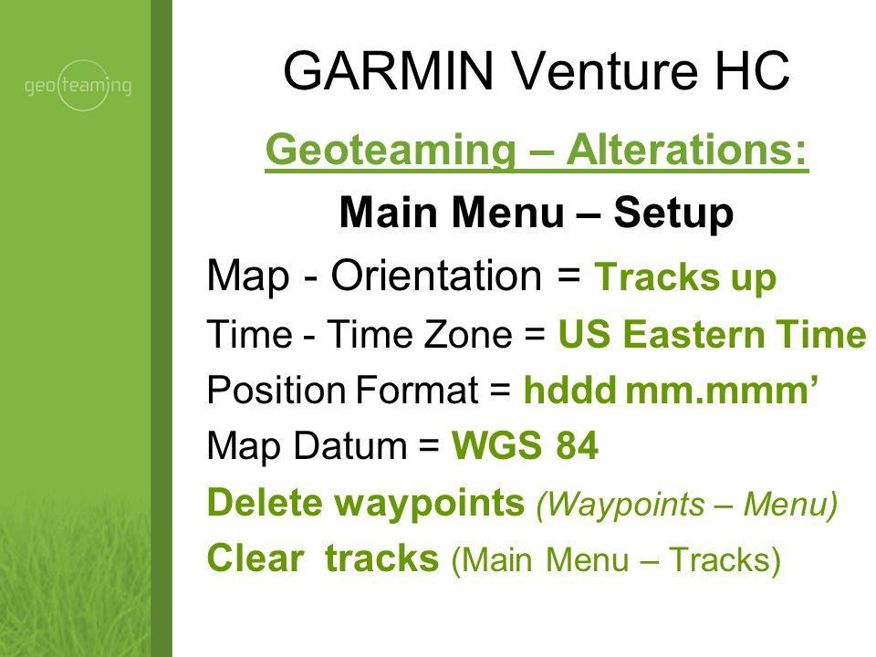 GARMIN Venture HC Quit / Page Power / Backlight GPS Antenna Zoom In