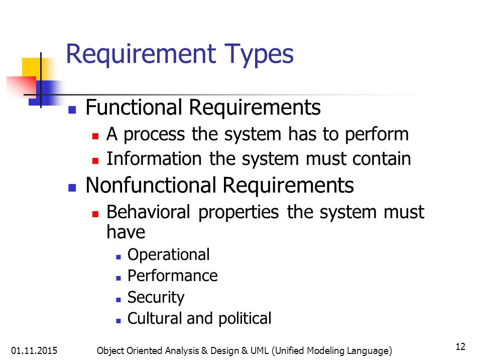 Non Functional Requirements In Systems Analysis And Design