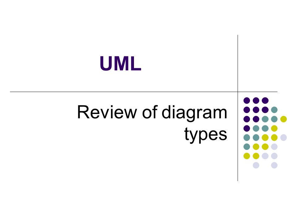 Uml review of diagram types 2 unified modeling language the unified 1 uml review of diagram types ccuart Images