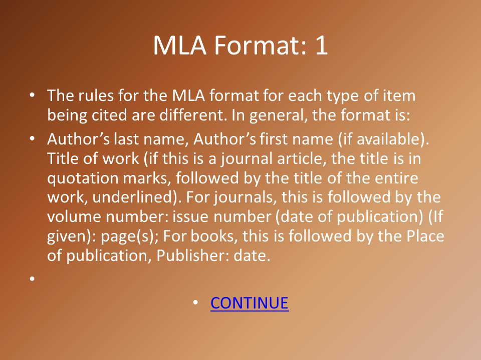 Citation Formats Usually A Professor Requires Citations On A Paper