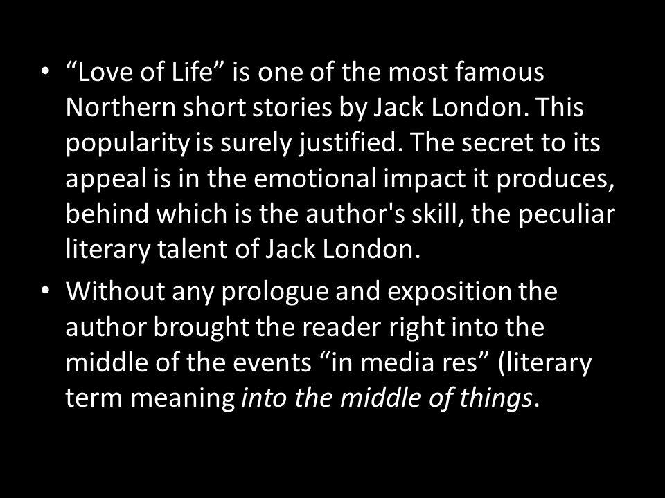 jack london love of life short story