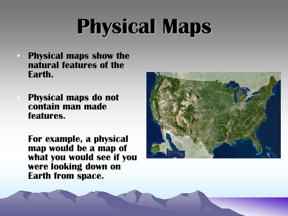 What Does A Physical Map Show Map Skills. What is a map? A map is a representation, usually on a