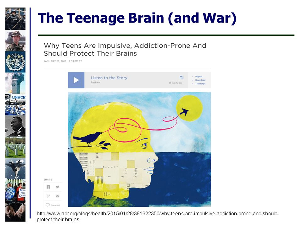 Why Teens Are Impulsive Addiction Prone >> Pacs 2500 Introduction To Peace And Conflict Studies Guy Burgess Co