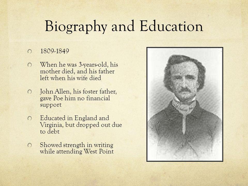 Edgar Allan Poe: A Biography
