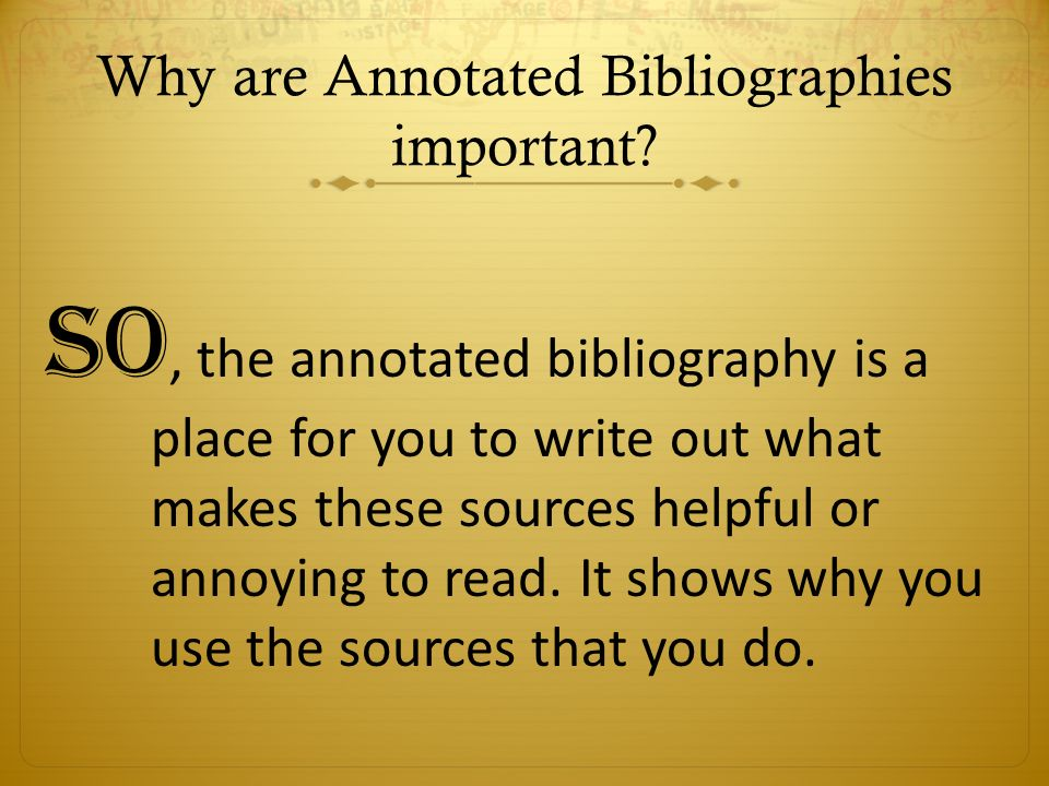 Annotated bibliography because someone else just might want to what is an annotated bibliography ovid metamorphoses books i viii ccuart Image collections