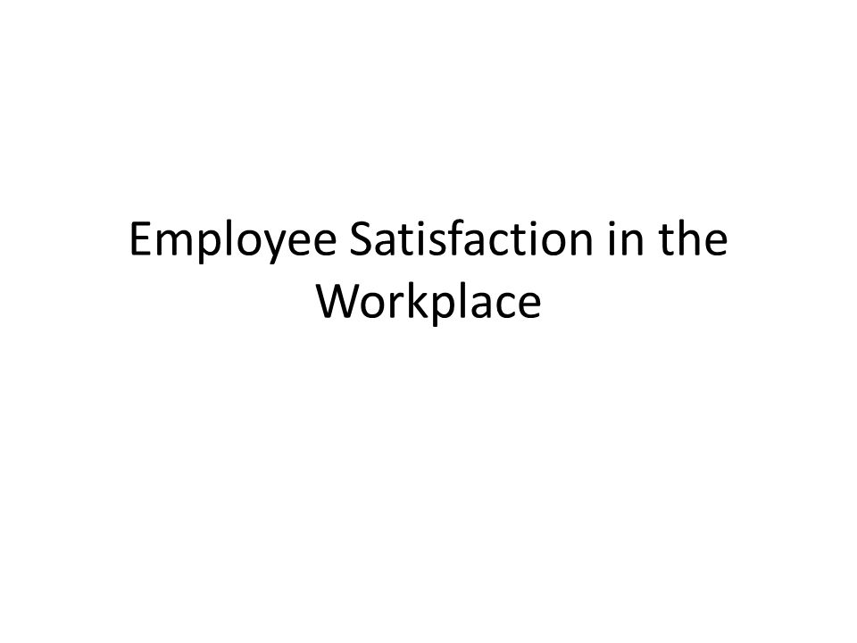 employees satisfaction in the private sector Job satisfaction in private banking sector of  pakistan yasir hassanα, kashif-ud-dinω, zark mirβ, khalil ahmadψ, abdul mateen¥, waseem ahmad§, ahmad bilal nasir€ abstract - the aim of this study was to examine job satisfaction level in private banking sector of pakistan.