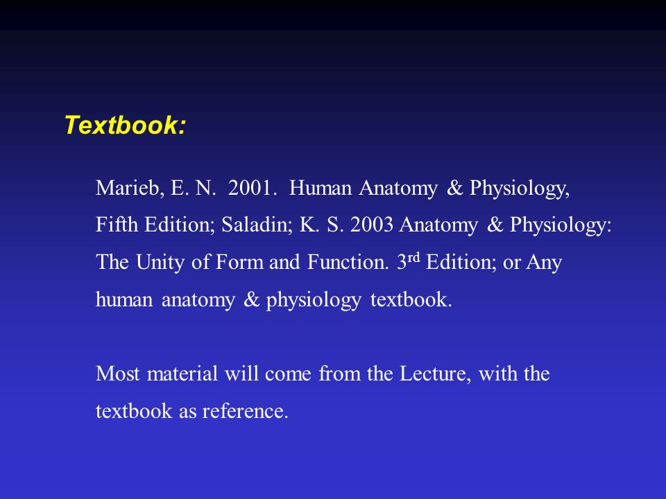 Welcome To LIFS 241 HUMAN ANATOMY AND PHYSIOLOGY II. - ppt download