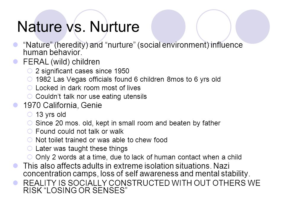 genie nature vs nurture essay