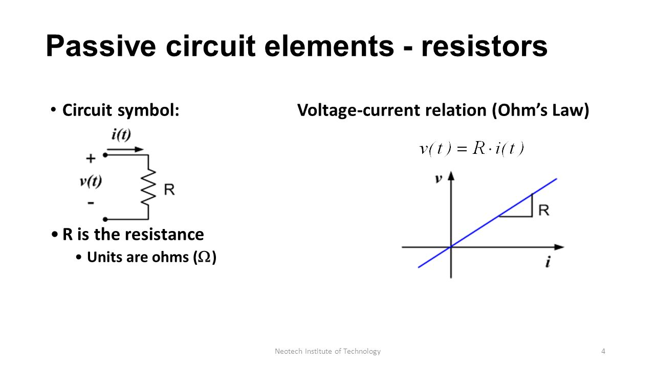 Elementary Concept Of Dc Circuit Department Of Electrical