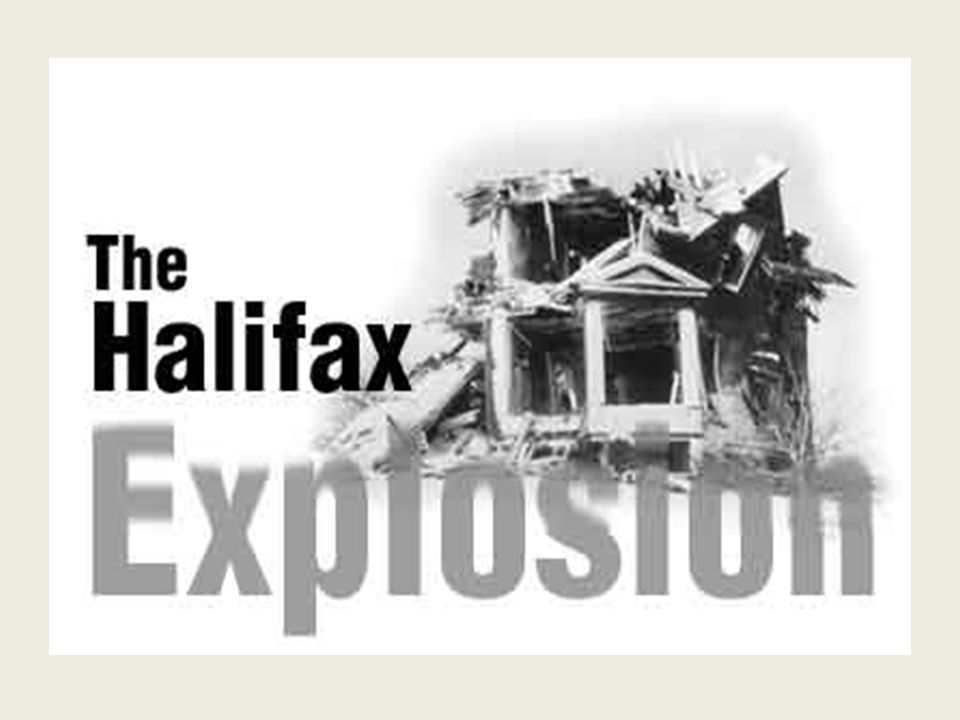 Halifax Explosion December 6, 1917 Belgian relief ship Imo