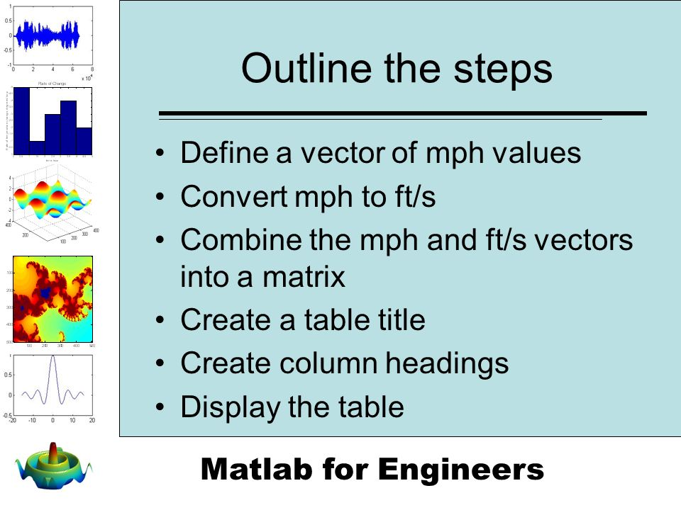how to create a table in matlab