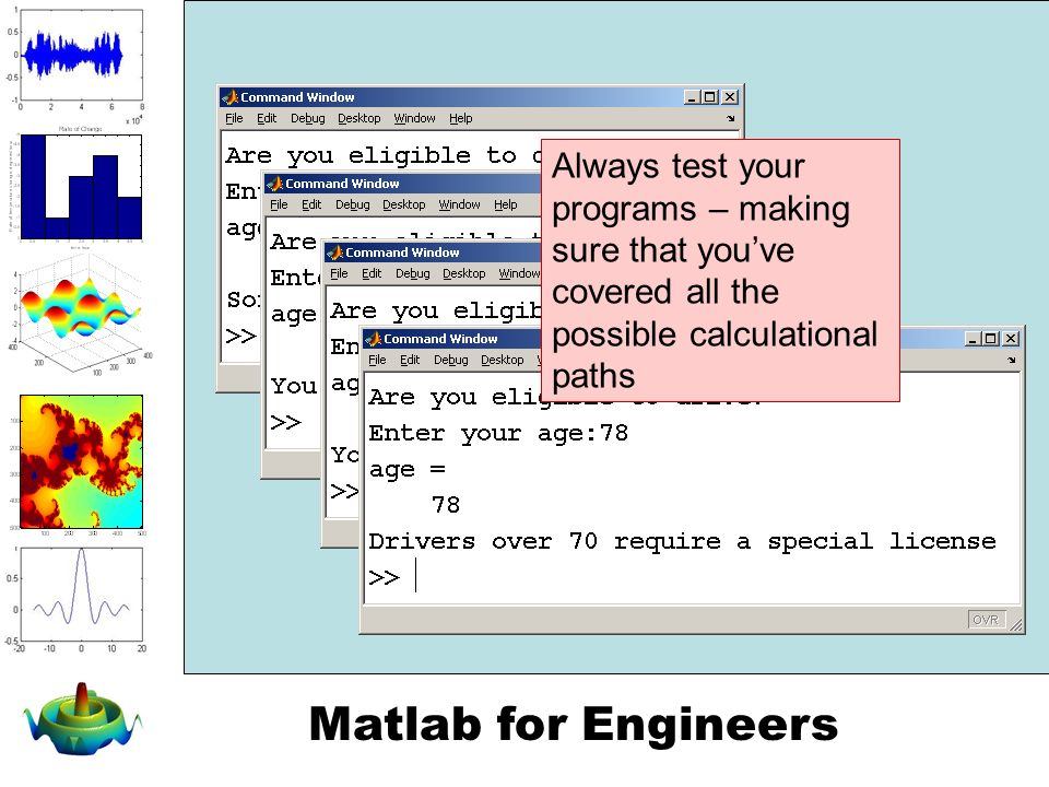 Matlab for Engineers Logical Functions and Control