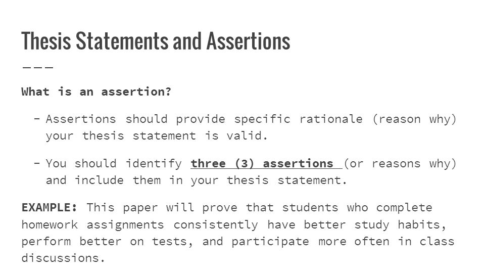 Writing Persuasive Essays How To Write Thesis Statements Identify   Thesis Statements