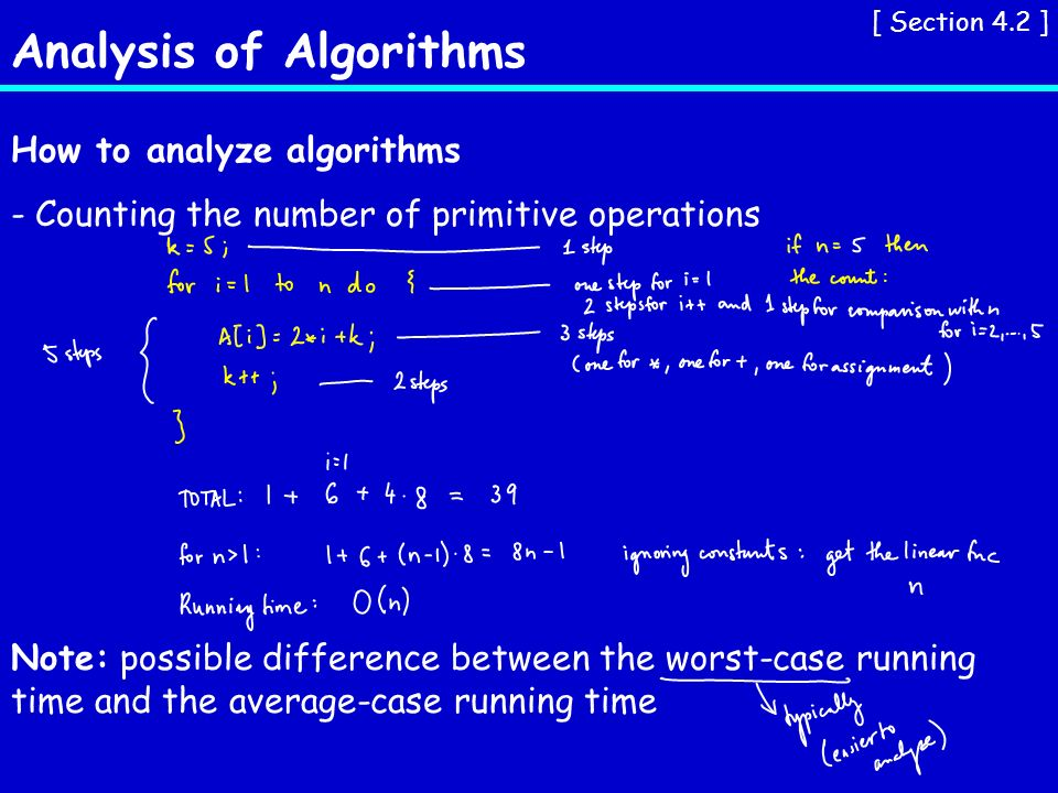 Analysis Of Algorithms Section 4 1 Examples Of Functions