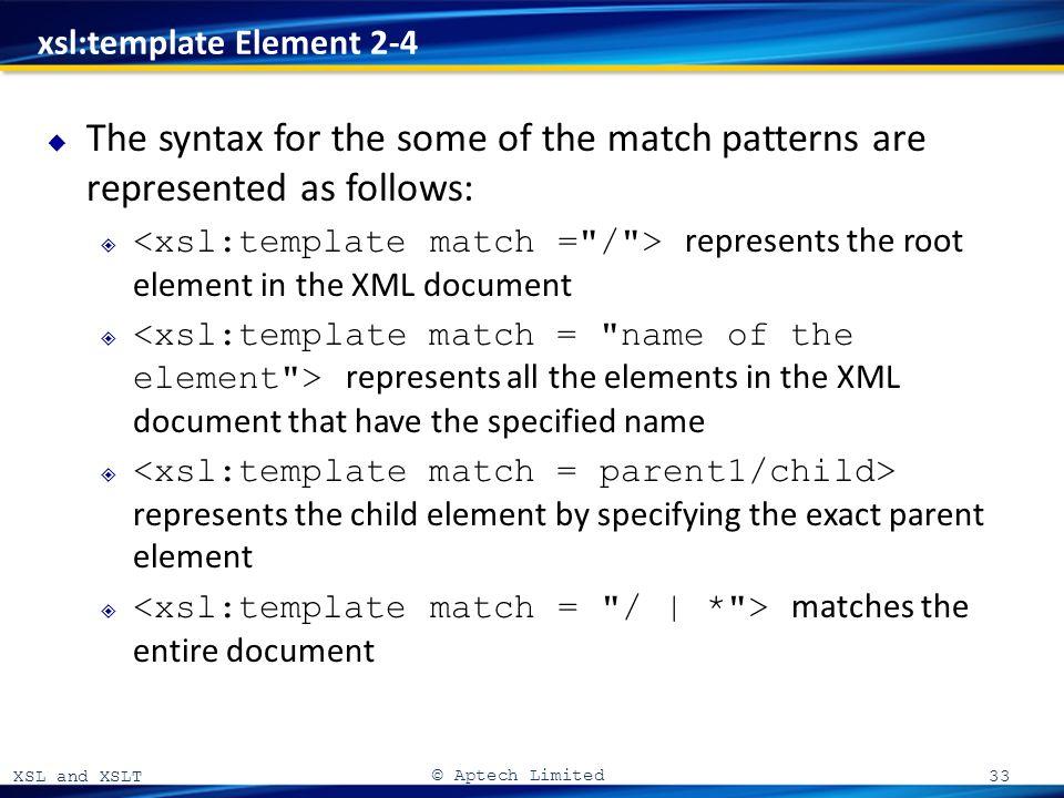 xsl and xslt 06 xsl and xslt aptech limited introduction to xsl