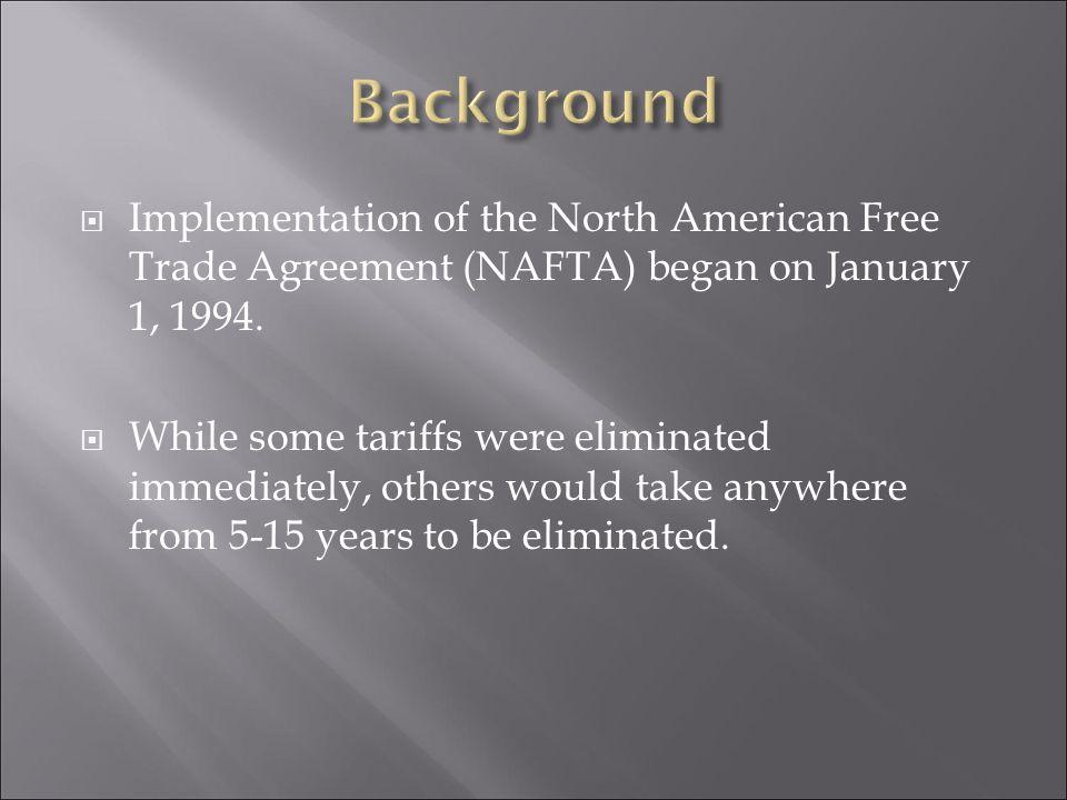 Background Information Disadvantages Of Nafta Advantages Of