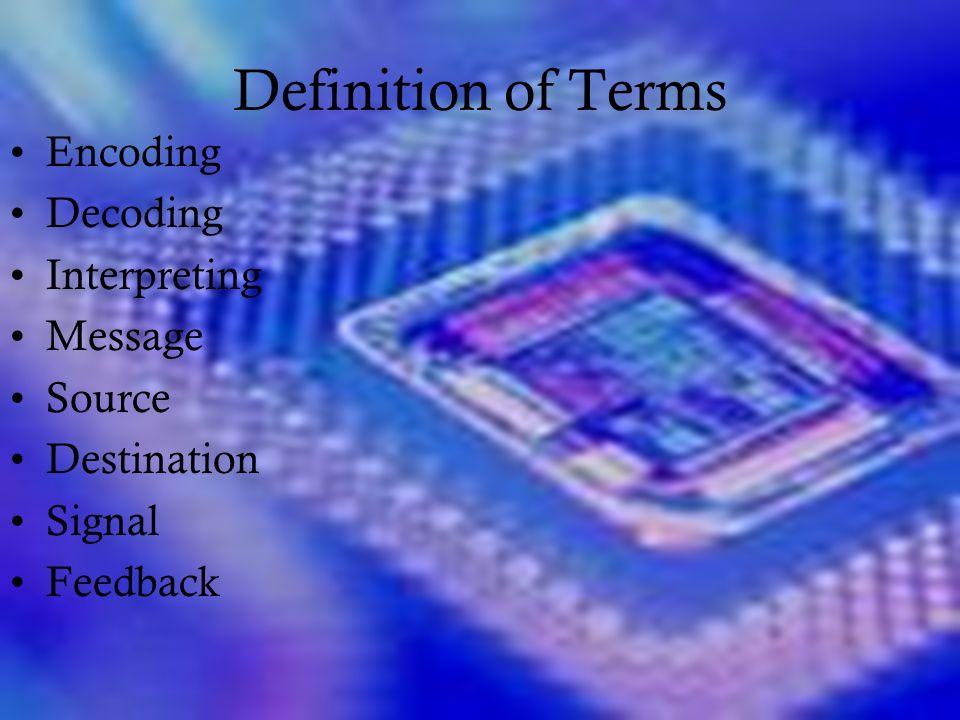 linear communication model definition