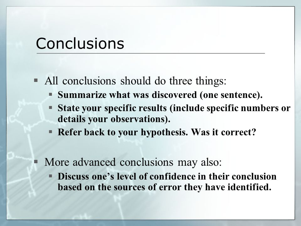 11. Conclusions – Based on 30 Years of Research