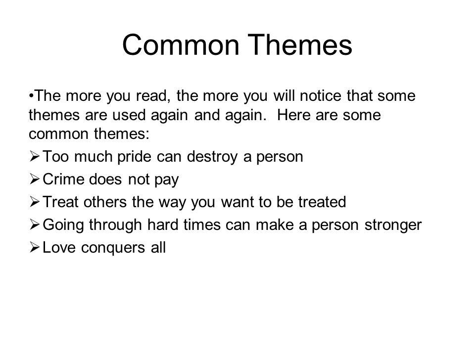 hard times themes