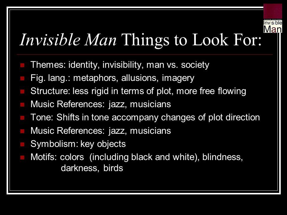 metaphors in invisible man