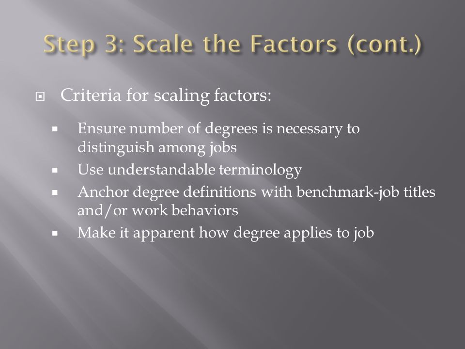 Job evaluation is the process of systematically determining