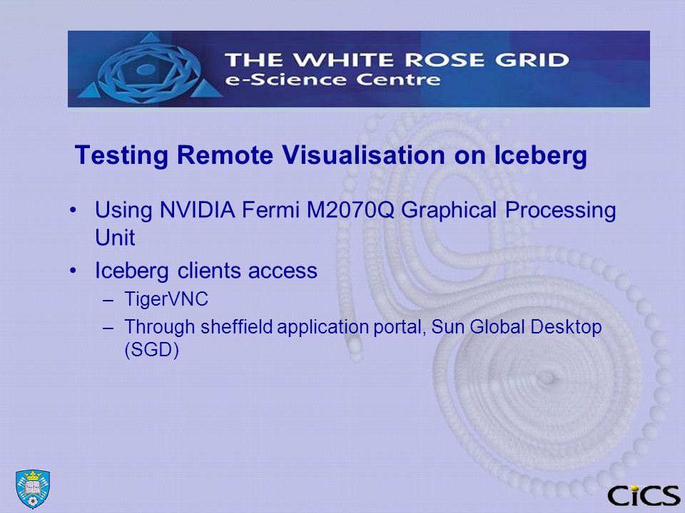 Getting Started with HPC On Iceberg Michael Griffiths and