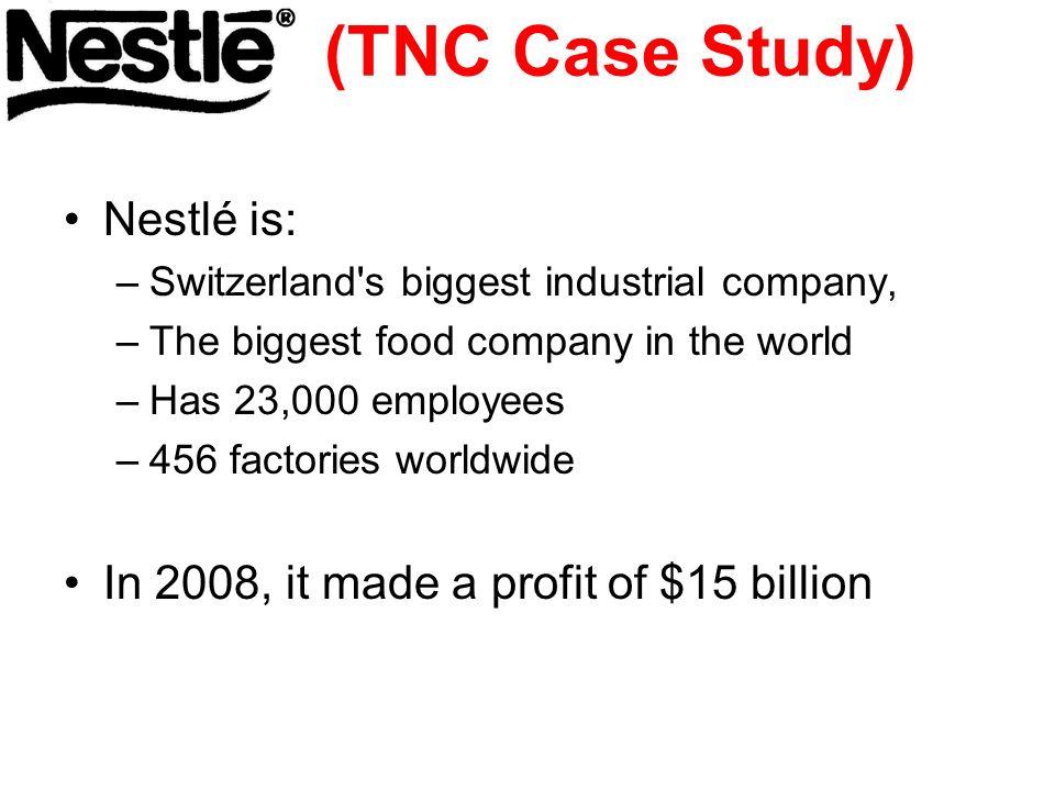 nestle case study tnc