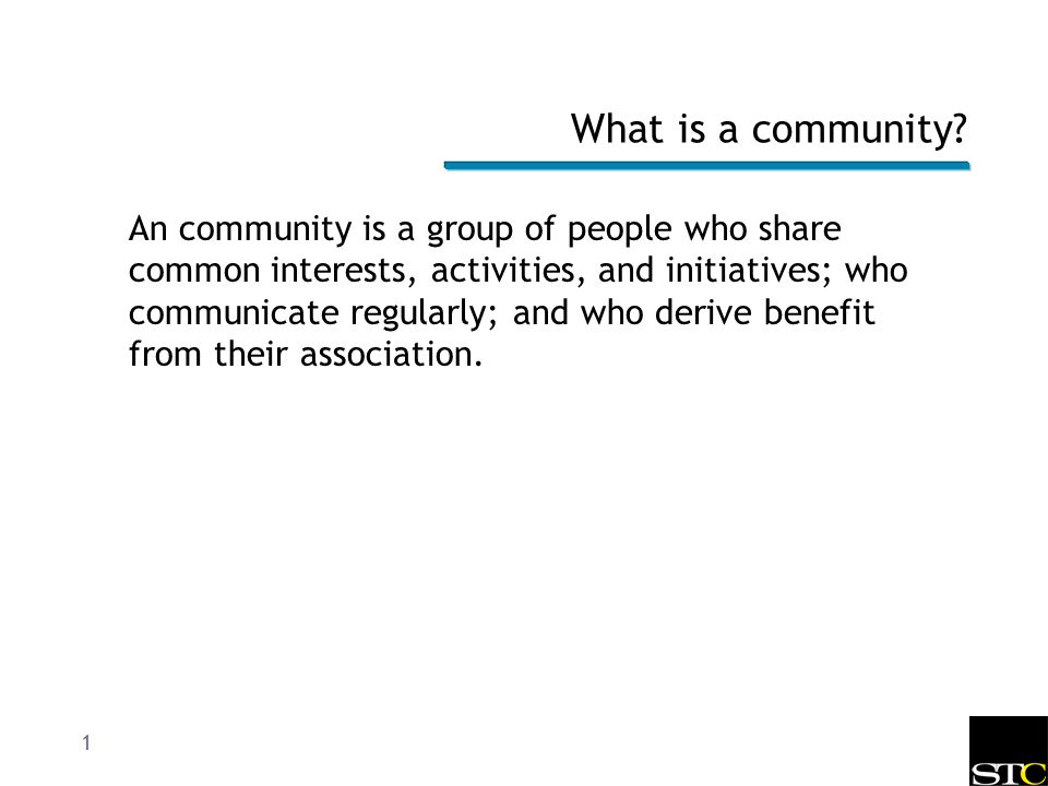 common interests of people