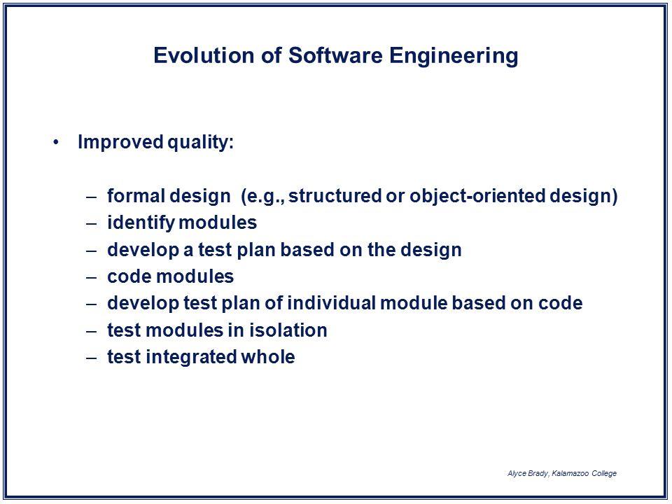 Alyce Brady Kalamazoo College Software Engineering Friday Week Ppt Download