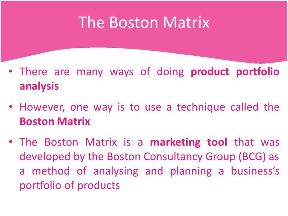 3 1 - MARKETING Lesson 8 – Product Portfolio Analysis  - ppt download