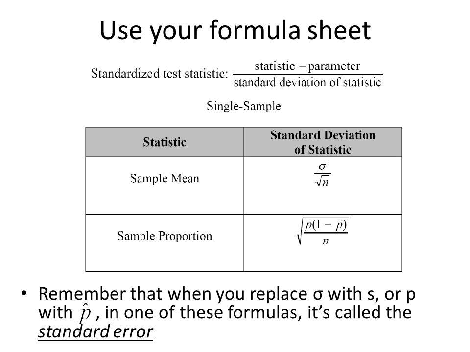 Standard Error Formula Statistics - gaurani almightywind info