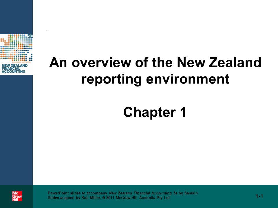 1 PowerPoint Slides To Accompany New Zealand Financial Accounting 5e By Samkin Adapted Bob Miller 2011 McGraw Hill Australia Pty Ltd An
