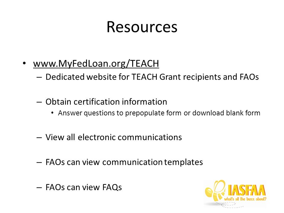 Federal Teach Grant Brittany Peterson Iowa State University Ppt