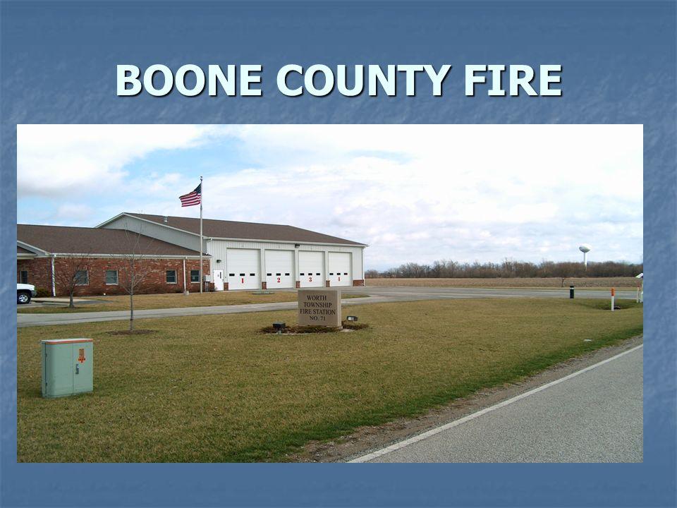 BOONE COUNTY FIRE  CHIEF BRIAN COPE BRIAN COPE Volunteer