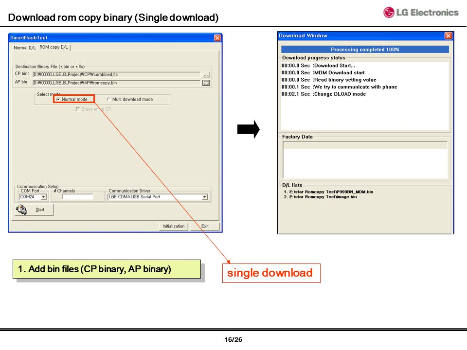 1/26 [P970] Introduction of download tool Dec 22th, 2010 by Woon Rae