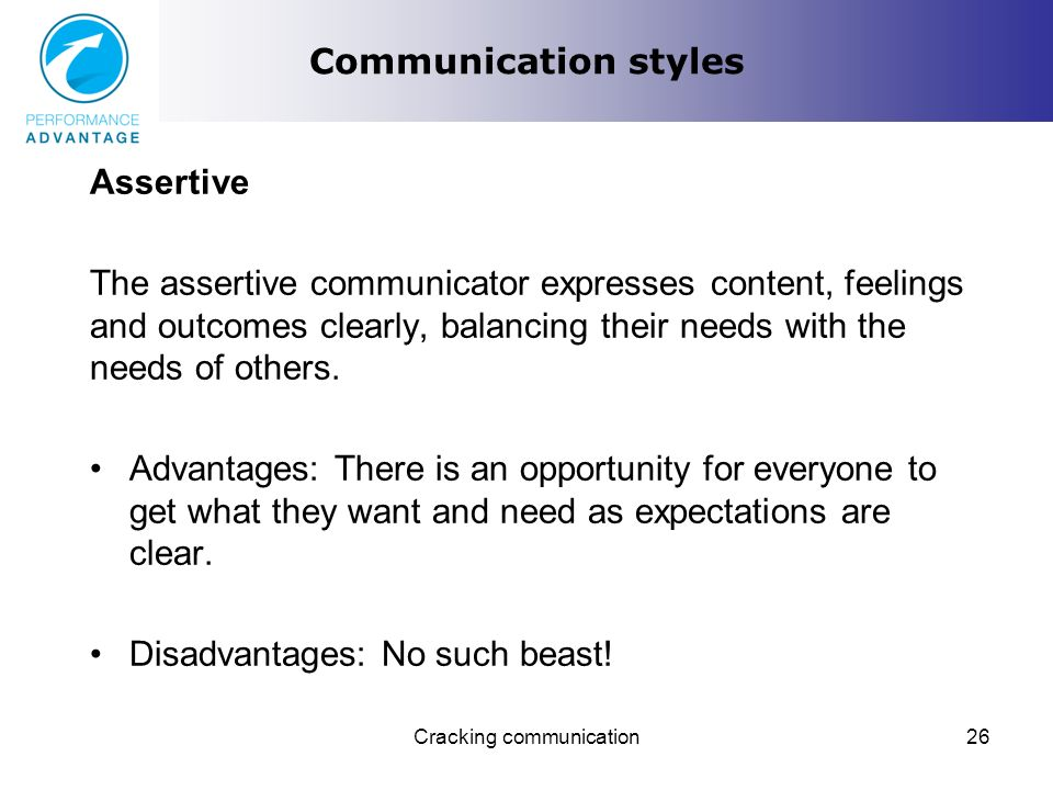 communication weaknesses
