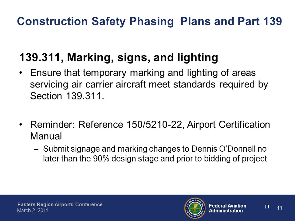 presented to by date federal aviation administration construction rh slideplayer com manual of standards (mos) – part 139 aerodromes manual of standards part 139 aerodromes
