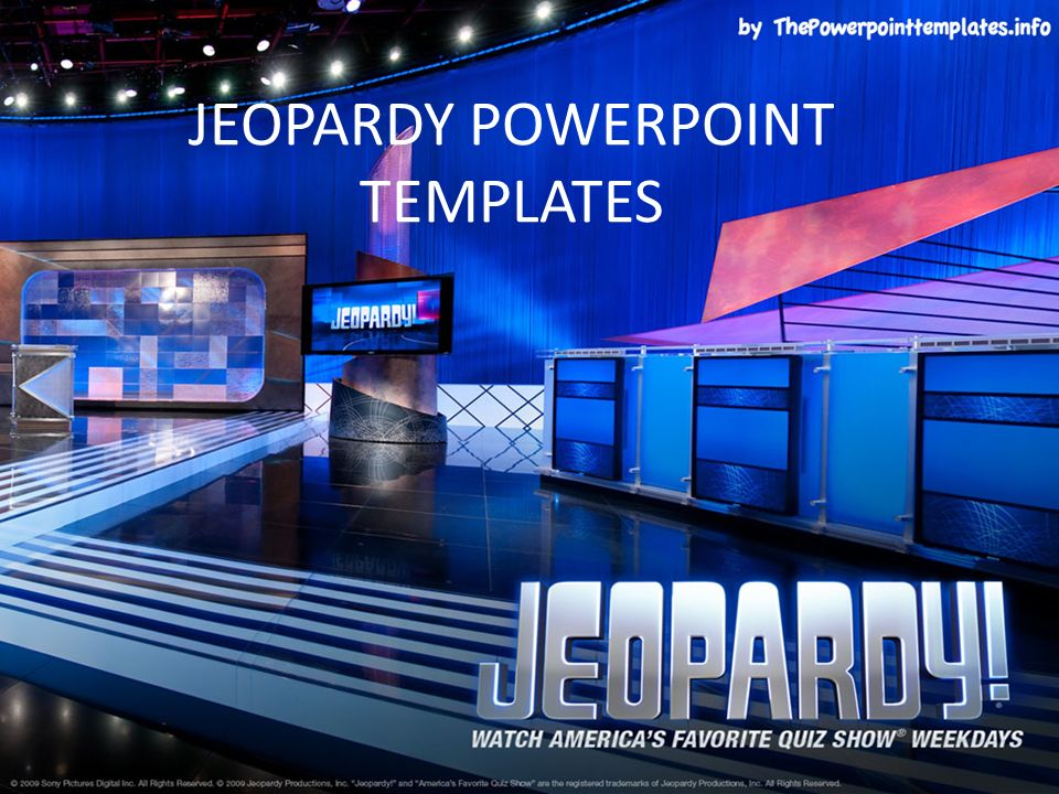 Jeopardy Powerpoint Templates Atmospheremore Atmosphere