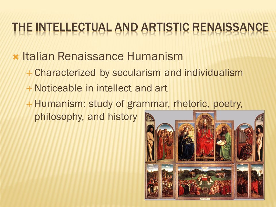 thesis statement renaissance humanism During the renaissance era, humanism became a central motif for painters, sculptors, and artists of the like in the artistic periods prior, such as the medieval era, the content of most works was religious-based in the high renaissance, we start to slowly move away from this.