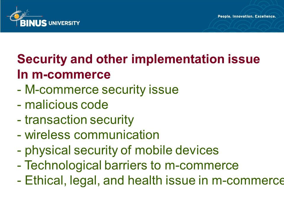 Ethical, legal, and health issues in m-commerce.