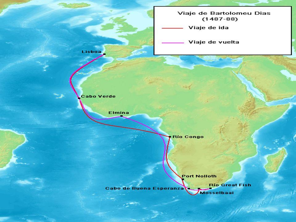 Bartolomeu Dias The Explorer Routes