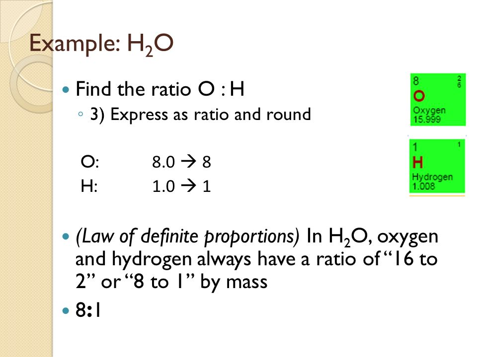 Mass Ratios Law Of Multiple Proportions Miss Fogg Fall Ppt Download
