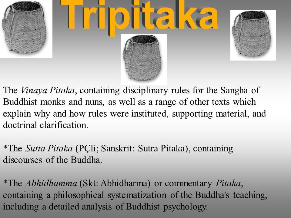 the vinaya pitaka